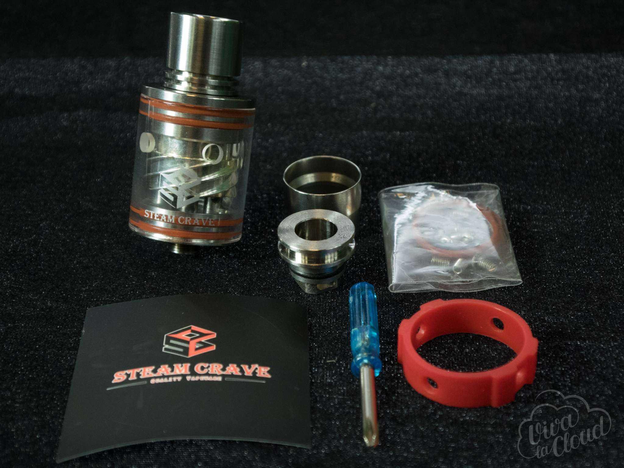 Steam Crave Squonk Setup