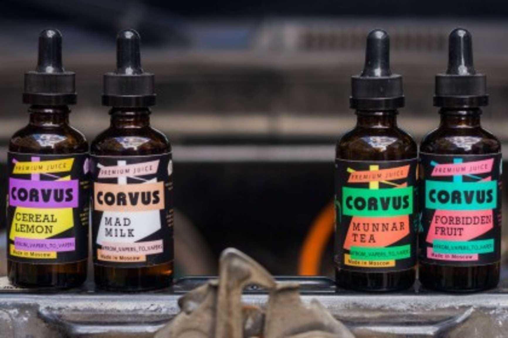 corvus жидкость