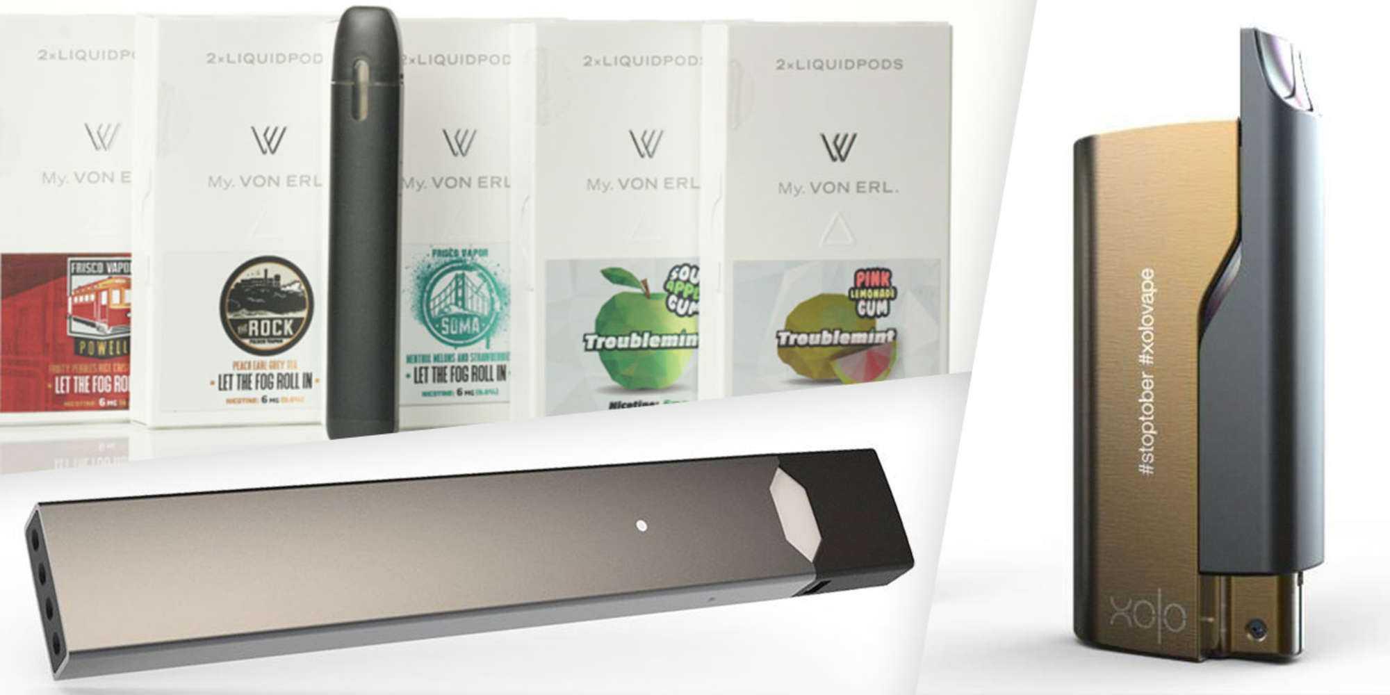 что можно купить из электронных сигарет