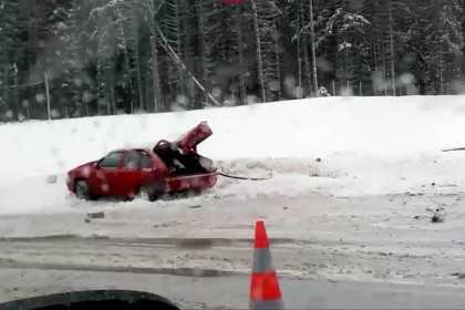 Вейперы попали в аварию