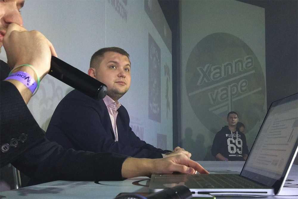 Депутат Чернышов на B2B-конференции в рамках Vape Village