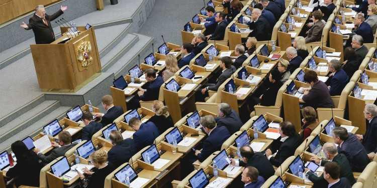 Пленарное заседание Госдумы. Фото — duma.gov.ru