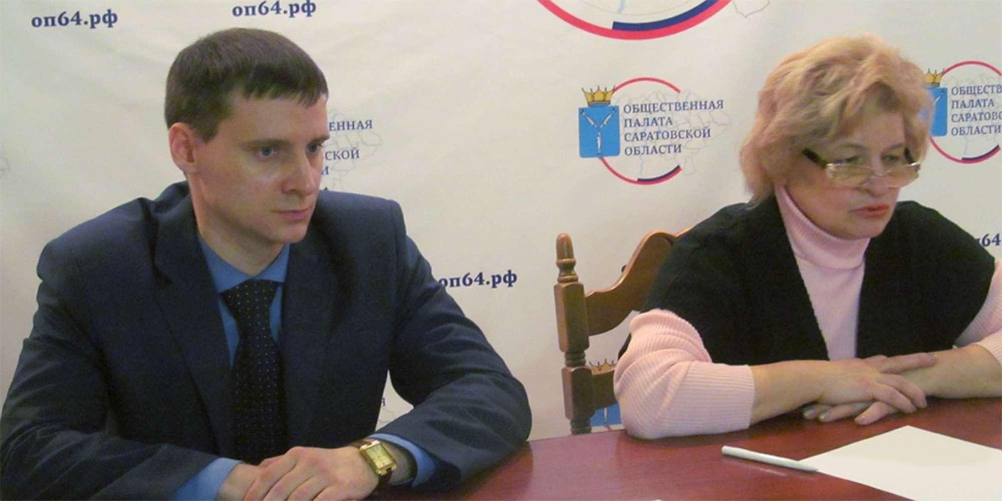 Слева — Зеленов, справа — Королькова. Фото — оп64.рф