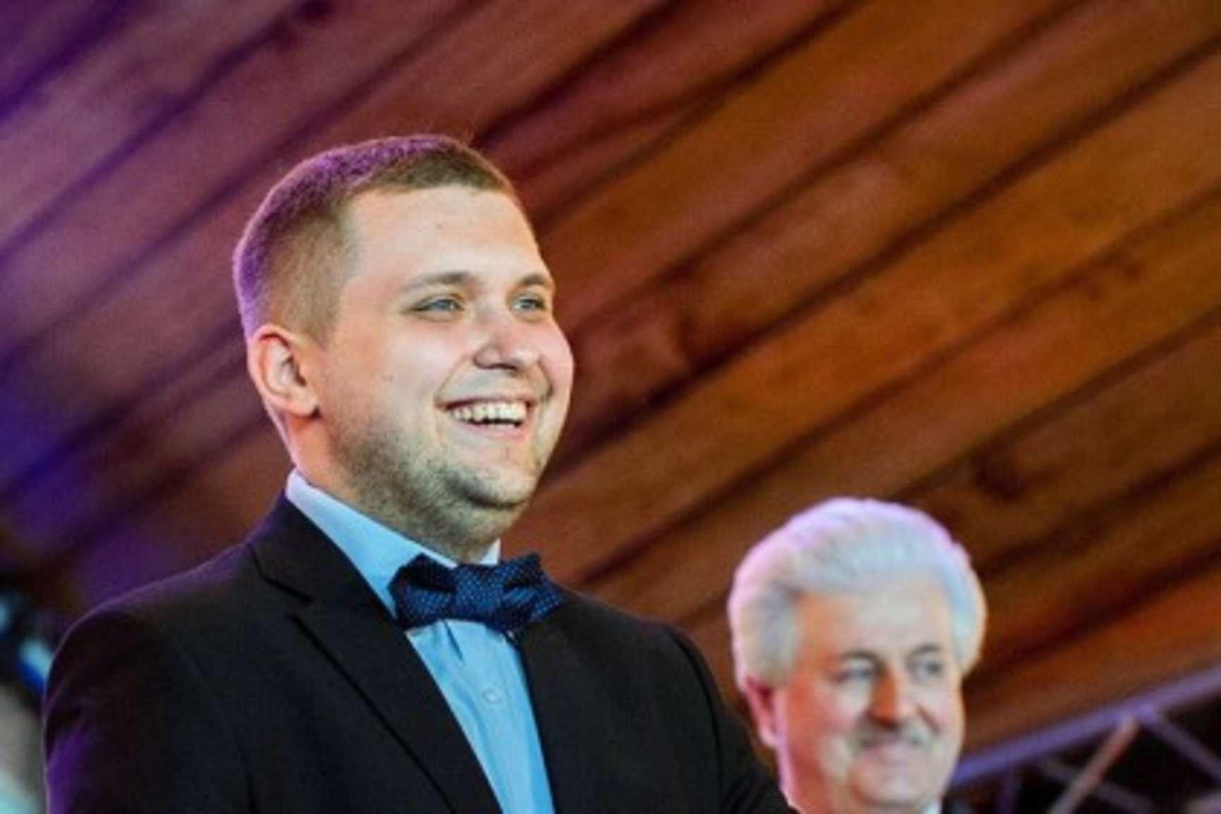 Борис Чернышов на 70-летнем юбилее Жириновского