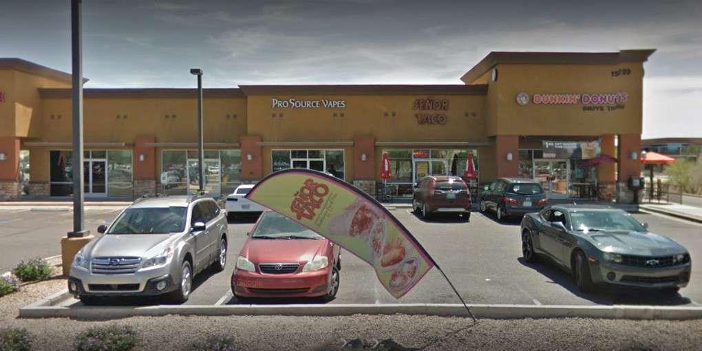 Магазин Pro Source Vapes в Скоттсдейле. Фото — «Гугл стрит вью»