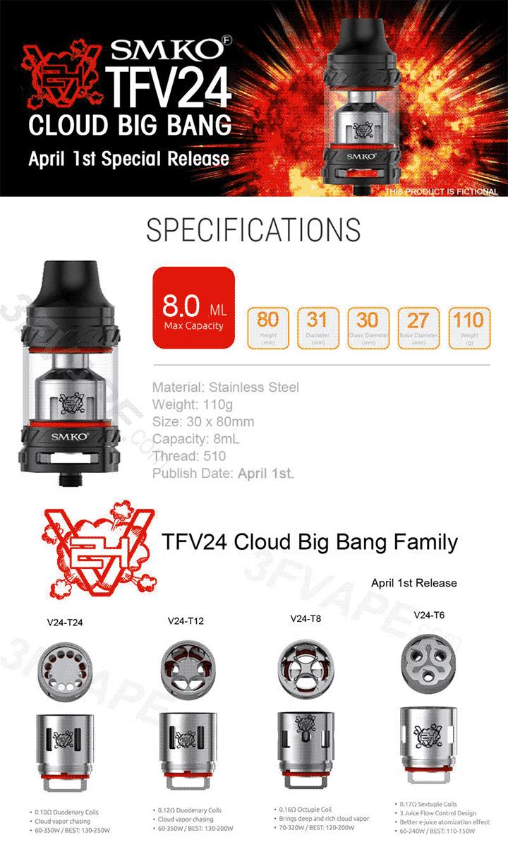 Лже-TFV24 от 3Fvape