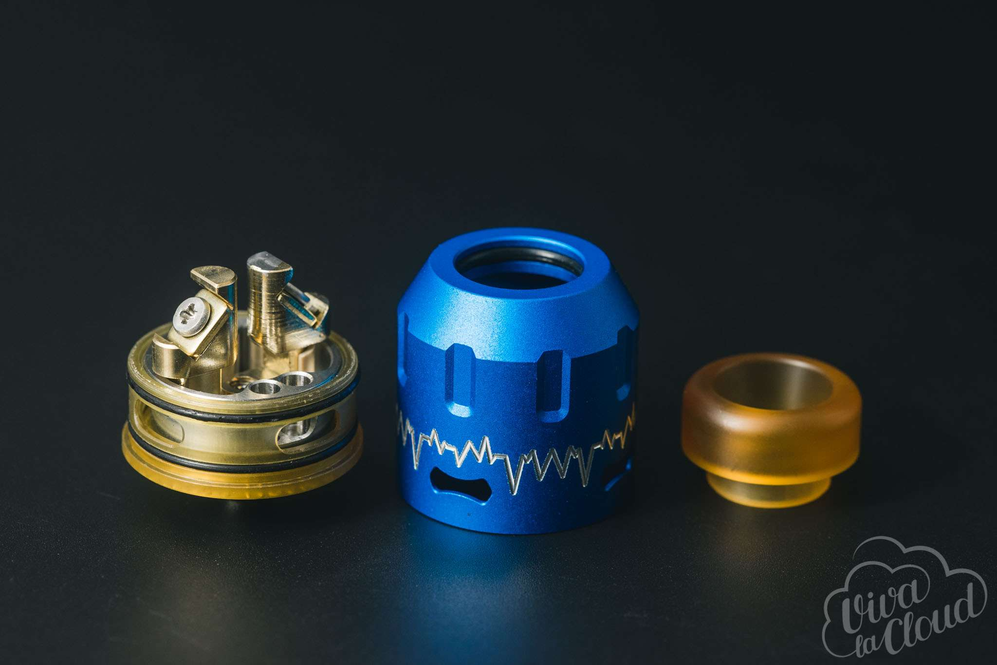 STEELVAPE ECG BOTTOM FEEDER RDA