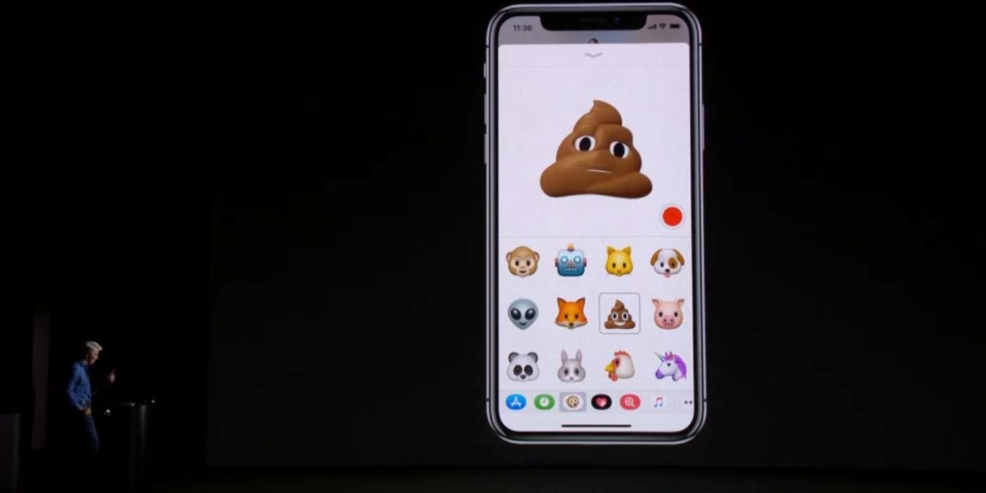 iPhone poop