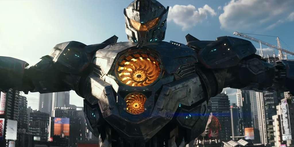 Джон Бойега управляет огромным роботом втрейлере фильма «Тихоокеанский рубеж 2»