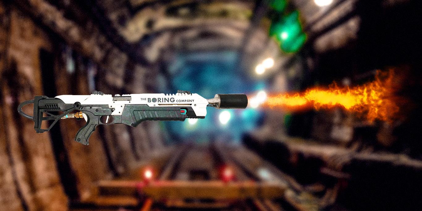 Илон Маск подозревается внамерении торговать огнеметы