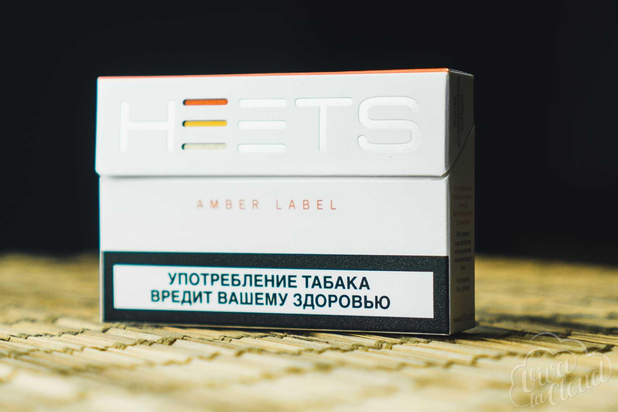 Cтики Iqos Heets Amber Label