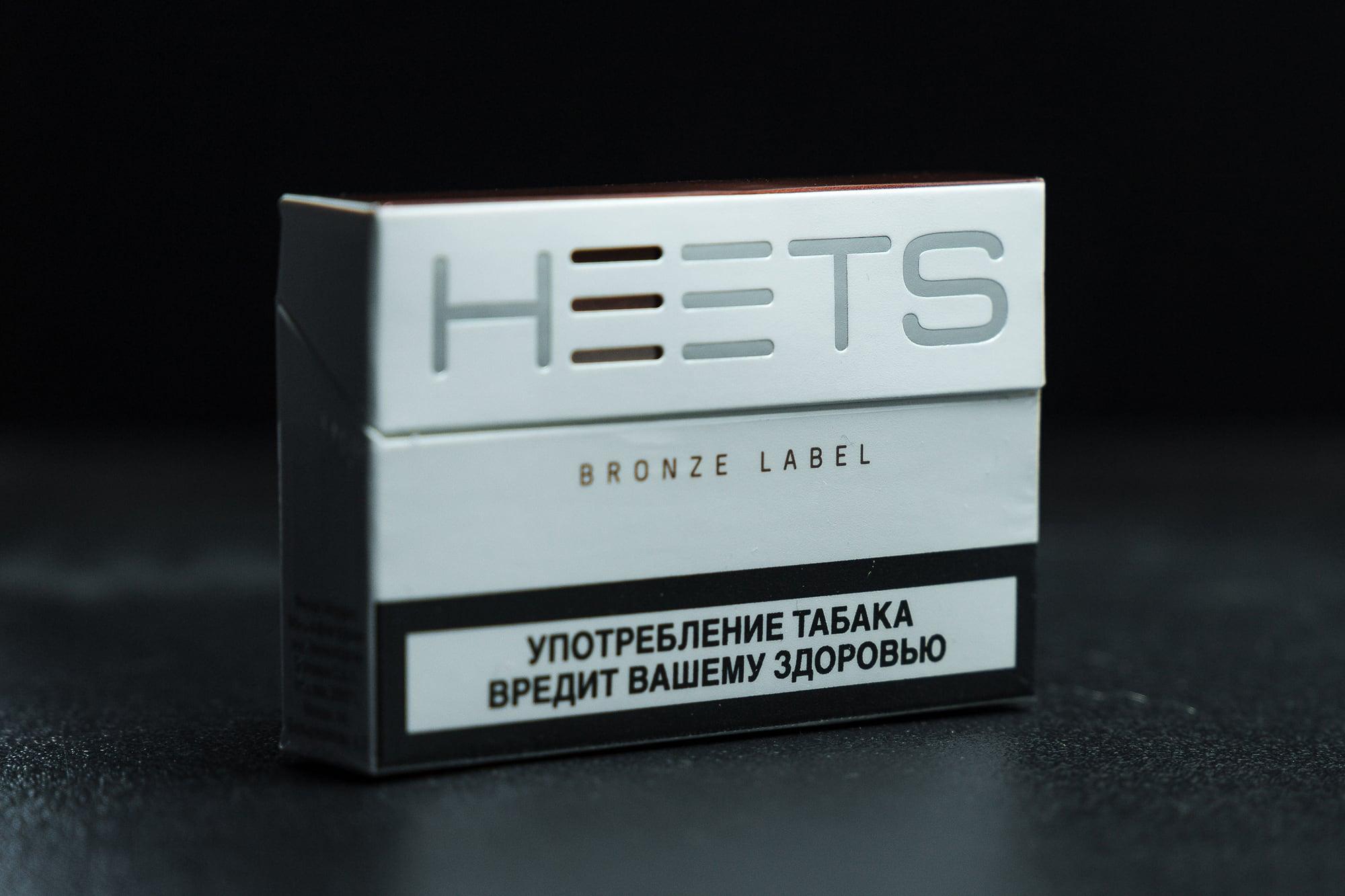 Cтики Iqos Heets Bronze Label